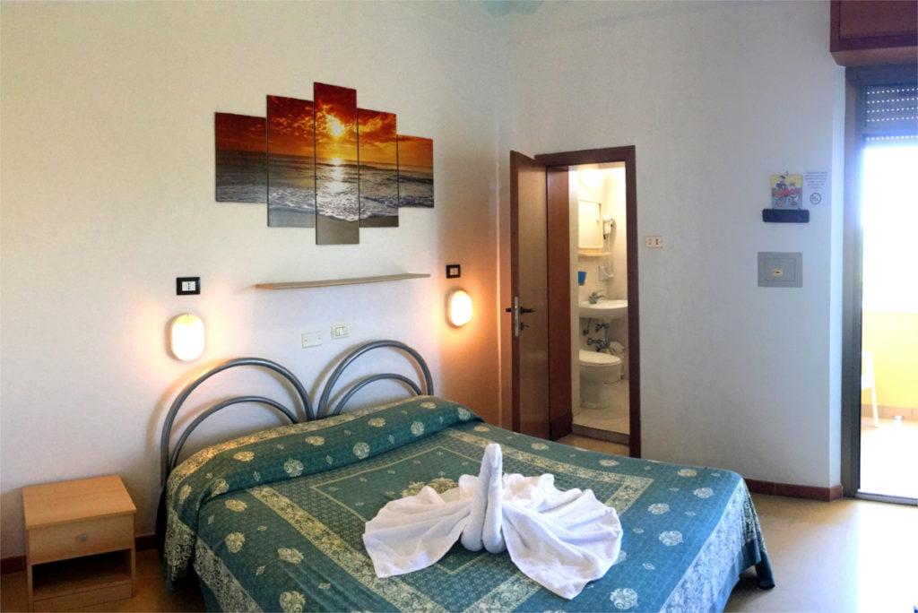 Le camere lato monte - Hotel Edelweiss