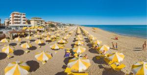 La spiaggi di Torrette di Fano - Hotel Edelweiss