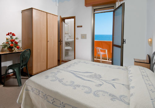 Le camere dell'Hotel Edelweiss